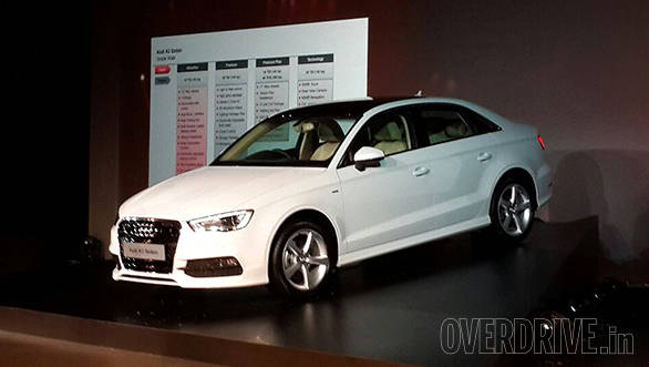 Audi A3 is the 2015 CNBC TV18 OVERDRIVE Viewer's Choice Car Of The Year