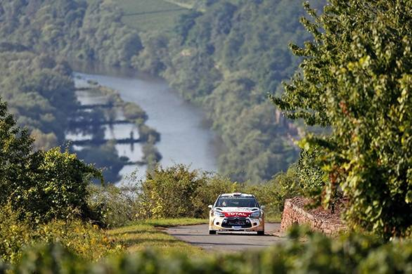 Kris Meeke became the first British driver to lead a WRC event in decades, until he crashed out, putting an end to any hopes of victory