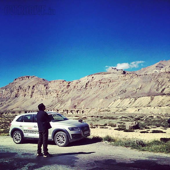 Ladakh. A place where you stare up in wonder a lot.