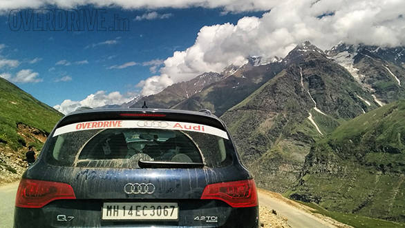 Independence Quattro Drive 2014: Arrival at Ladakh