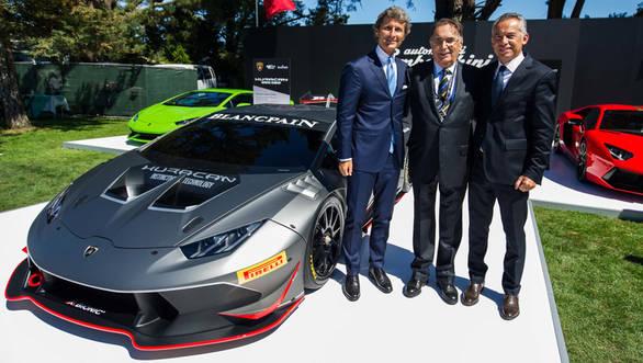 Lamborghini Huracán LP 620-2 Super Trofeo racecar 2