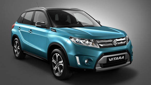 The 2015 Suzuki Vitara will make it debut at the 2014 Paris Motor Show.