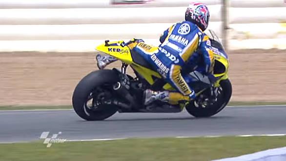 Yamaha tribute to Colin Edwards (2)