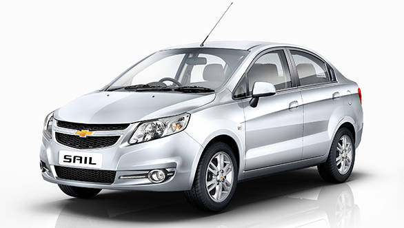 2014 Chevrolet Sail hatchback and sedan launched in India