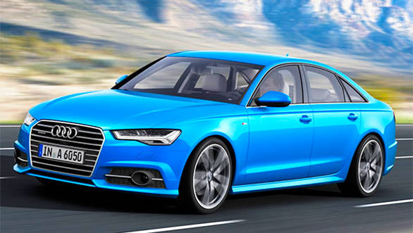 2015 Audi A6 facelift revealed with Matrix LED headlights Overdrive