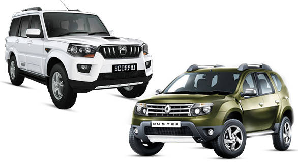 spec comparison renault duster rxz awd vs mahindra scorpio s10 4wd comparison by overdrive. Black Bedroom Furniture Sets. Home Design Ideas