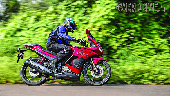 2014 Hero Karizma ZMR India road test