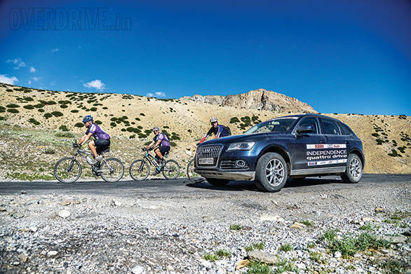 Cyclists are brave and aplenty in Ladakh