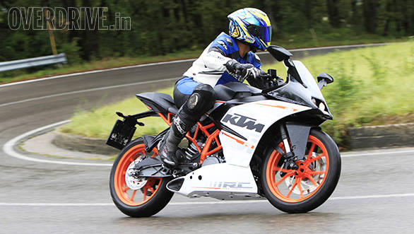 KTM RC 390 is the 2015 CNBC TV18 OVERDRIVE Bike Of The Year - Overdrive