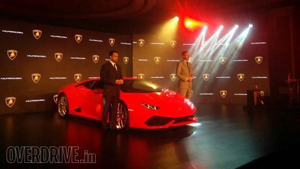 2014 Lamborghini Huracan LP 610-4 launched in India at Rs 3.43 crore