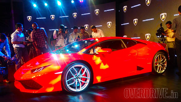 2014 Lamborghini Huracan India image gallery