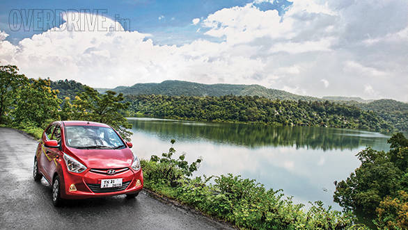 Travelogue: Over the edge with the Hyundai Eon