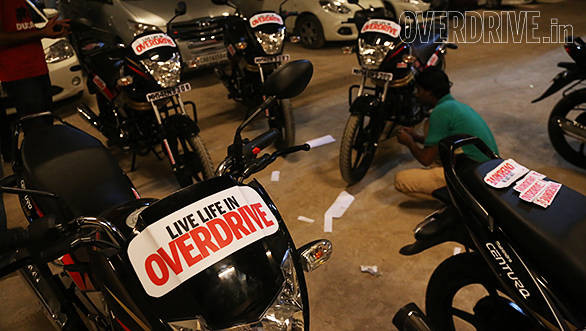 Rise Above Ride with Mahindra Centuro: Day One