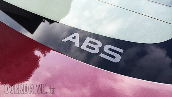 Maruti Suzuki's favourite ABS decal moves to the rear windshield for the Ciaz