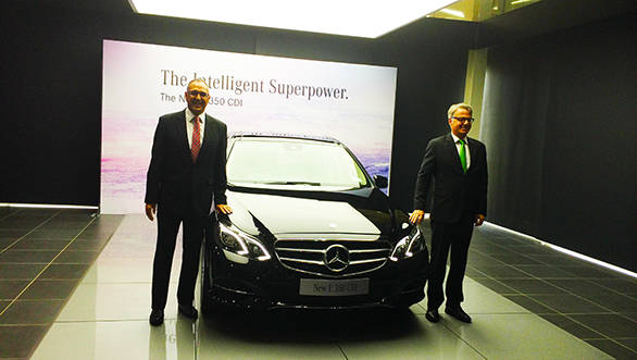 2014 Mercedes E350 CDI launched in India at Rs 57.42 lakh