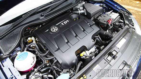 The 1.5l diesel engine boasts 105PS/250Nm