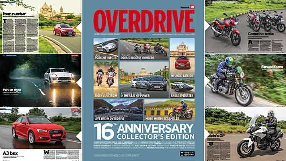 16th Anniversary issue of OVERDRIVE: Sneak-peek