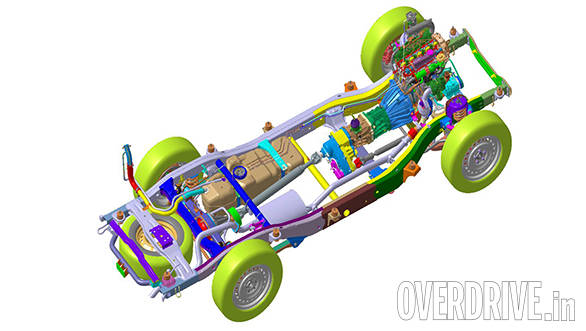 New Mahindra Scorpio Chassis Explained Overdrive