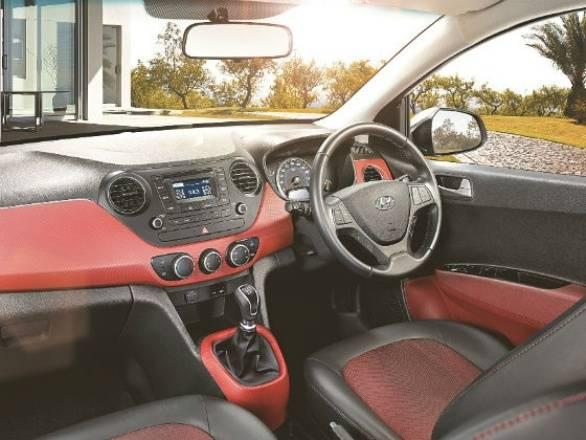red interior SportZ Grand i10