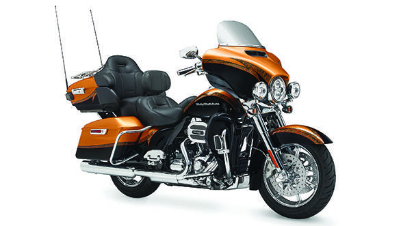 The Ultra Limited is a touring motorcycle. The CVO adds a bigger, more poweful engine and acres of new chrome bits