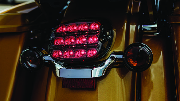 LED tail lamps (and other lighting) comes from the Project Rushmore. It makes the lights brighter, more reliable and less power hungry
