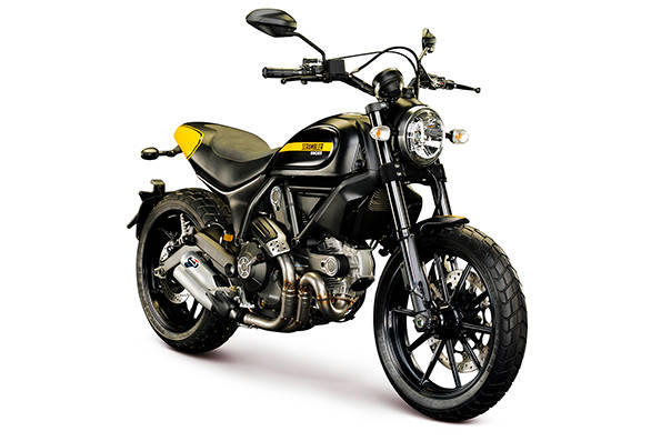 The Ducati Scrambler Full Throttle