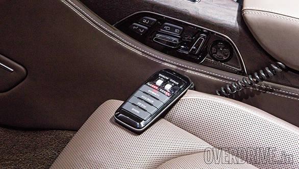 Audi A8 L cabin