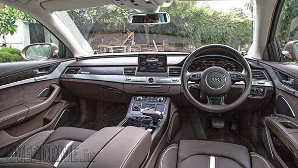 Audi A8 L interior
