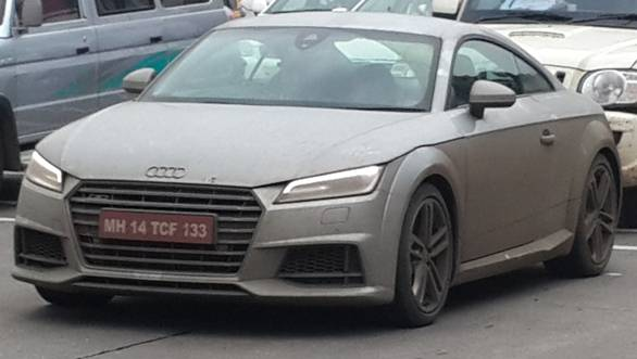 2015 Audi TT not coming to India this year