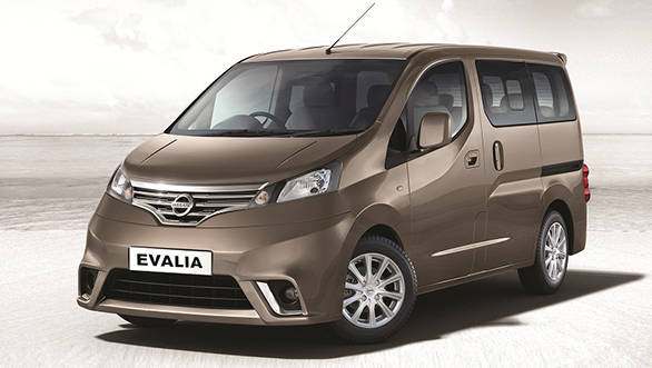 Nissan stops production of the Evalia in India