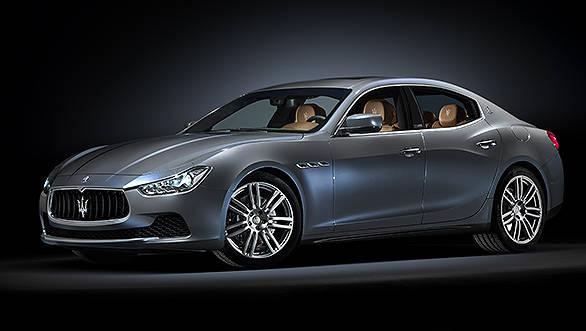 Maserati Ghibli Ermenegildo Zegna Edition debuts at the 2014 Paris Motor Show: Image gallery