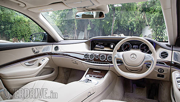 Mercedes-Benz S350CDI cabin
