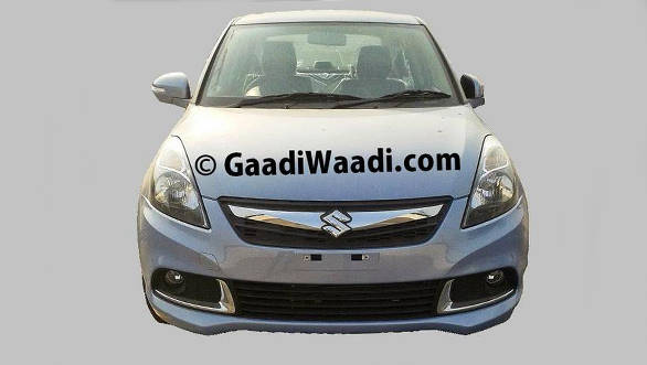 Spied-2015-Maruti-Dzire-facelift-front