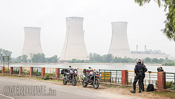 Tiger vs V-Strom Bathinda (18)