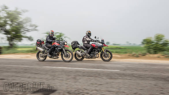 Tiger vs V-Strom Bathinda (20)