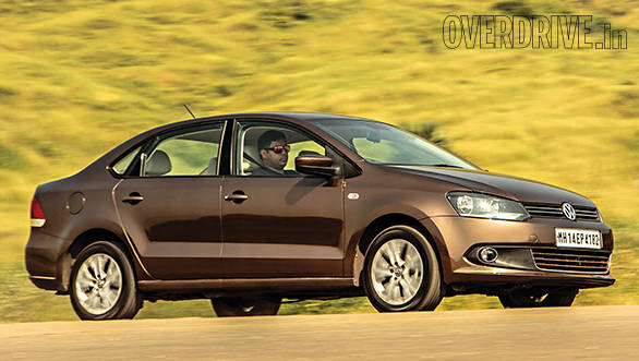 2015 Volkswagen Vento diesel DSG India road test review