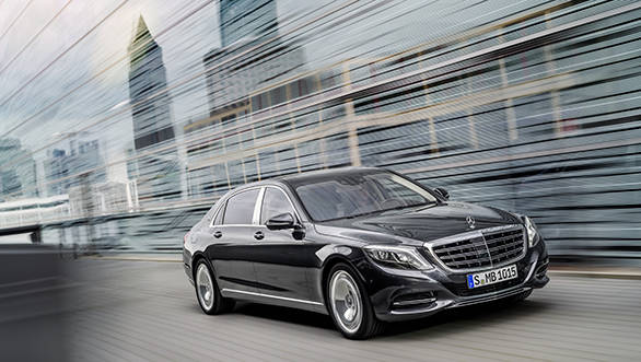 Mercedes-Maybach S 600 - width=