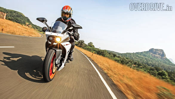 2014 KTM RC 390 India road test review