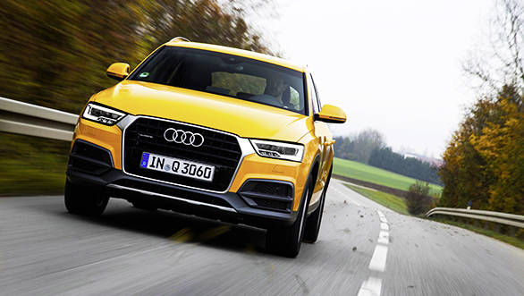 2015 audi q3 2 0 tdi first drive review overdrive. Black Bedroom Furniture Sets. Home Design Ideas
