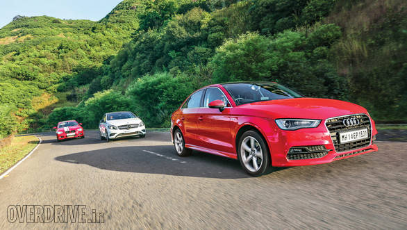 Audi A3 vs BMW 1 Series vs Mercedes-Benz A-Class (16)