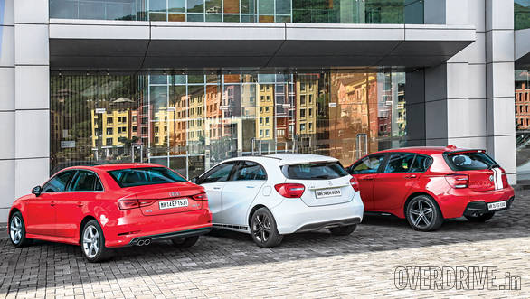 Audi A3 vs BMW 1 Series vs Mercedes-Benz A-Class (4)