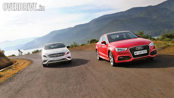 Audi A3 vs BMW 1 Series vs Mercedes-Benz A-Class (6)