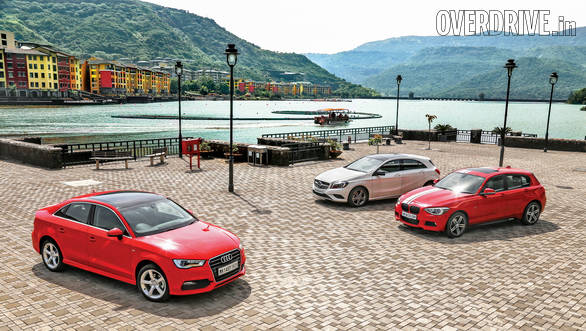 Audi A3 vs BMW 1 Series vs Mercedes-Benz A-Class (7)