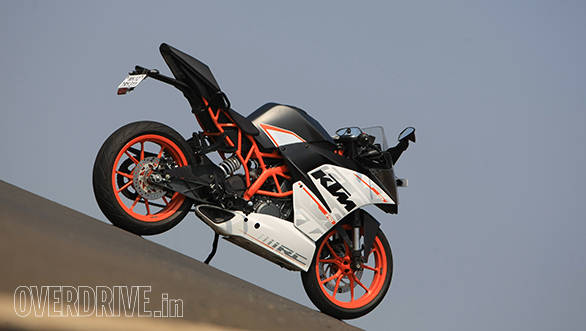 The KTM RC 390