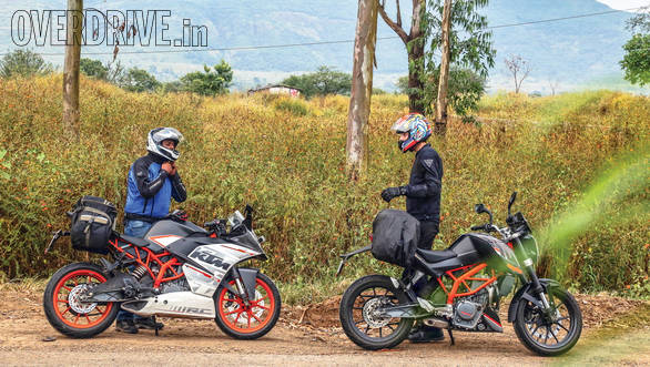 KTM RC 390 vs Duke 390 (8)