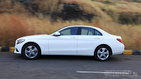 153af68fef7 2015 Mercedes-Benz C200 India road test review - Overdrive