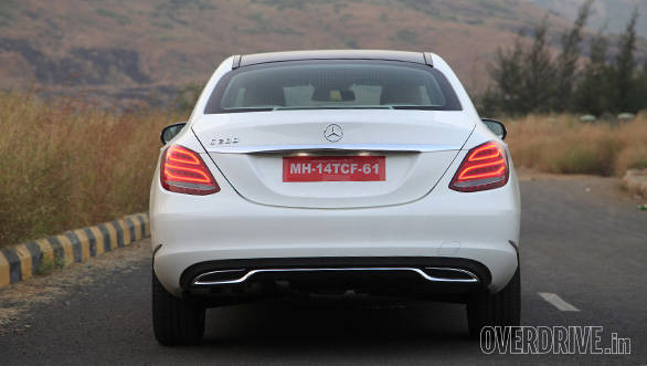 2015 Mercedes Benz C200 India road test review Overdrive