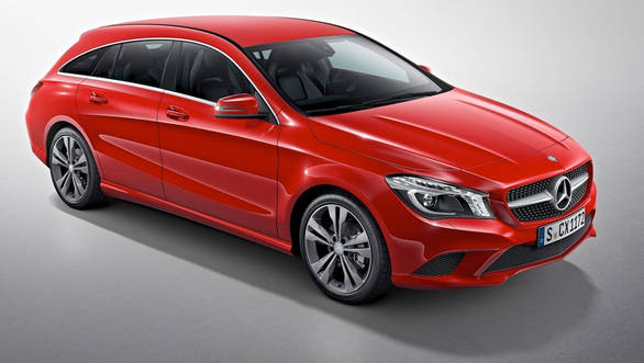 The CLA Shooting Brake is the fifth model based on the Mercedes-Benz MFA platform