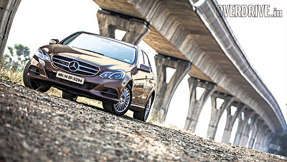 2014 Mercedes-Benz E350 CDI India road test review