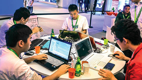 The Challenge Bibendum Hackathon saw 10 teams building apps for smarter mobility solutions